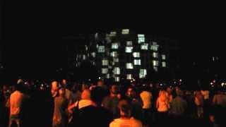 Лазер шоу в Харькове. 23 августа 2013
