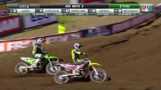 Tennessee 450 Moto 2: Roczen & Tomac's epic battle