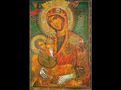 """Акафист Божией Матери перед иконой """"Млекопитательница"""" 25.01"""