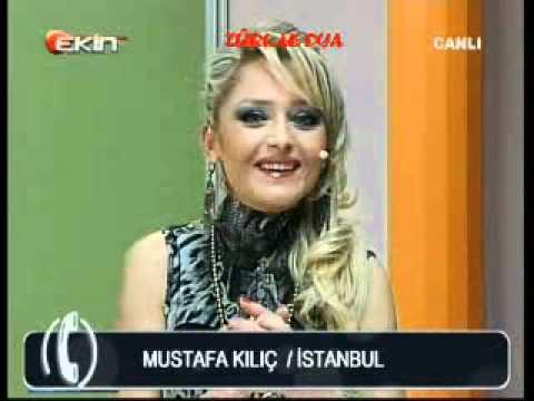 12-01-2012-EKİN TV-YELİZ AKAY'LA SABAH KEYFİ-MEDYUM MUSTAFA KILIÇ-TELEFON BAĞLANTISI