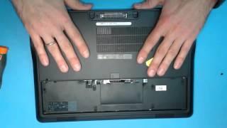 Laptop ta'mirlash. Tizza Dell bilan almashtirish xotira Kenglik E7440