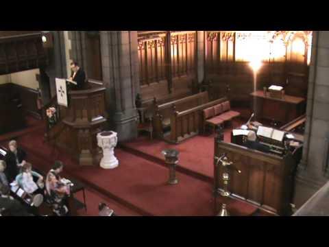 Saint Columba Gaelic Church; English Service Sunday 16 April 2017