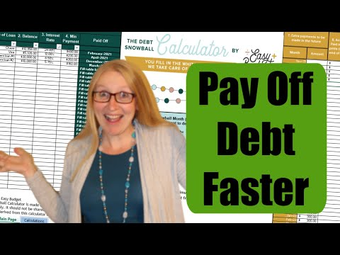 The Debt Snowball Calculator Explained-- Best Debt Tracker For Paying Off Debt