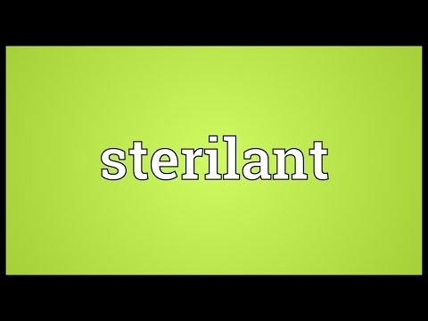Header of sterilant