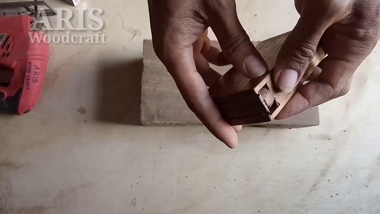Kotak rokok dari kayu || Wooden cigarette box - YouTube