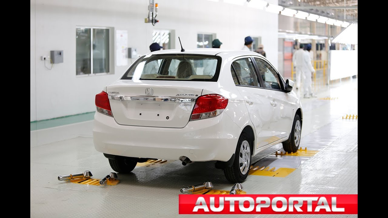 Honda S Tapukara Plant Inaugurated Amaze Rolled Out First