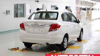 Honda's Tapukara Plant Inaugurated, Amaze rolled out first - AutoPortal