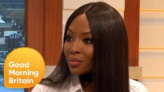 Naomi Campbell Left Speechless by Formula 1 'Grid Girl' Ban | Good Morning Britain