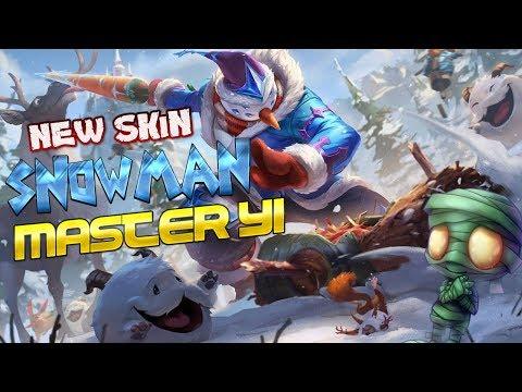 NEW SKIN SNOWMAN YI | NEXUS BLITZ FUNNY MONTAGE 😎