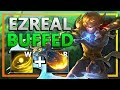 Klepto AND Ezreal Buffs?! He's actually INSANE now!!