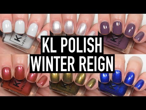 KL Polish - Winter Reign   Swatch and Review