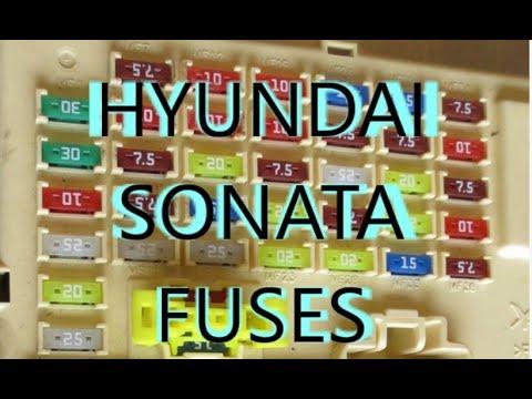 Fuses For ACC cigarette lighter Power outlet for Hyundai Sonata 2011 2012 2013 2014