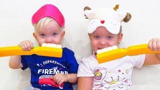 Лера и Лева собираются в школу - песенка для детей