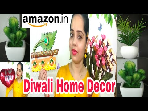 Diwali Home decorations/BUDGET FRIENDLY / Diwali decorations Ideas/ styling tips with Simul #Amazon
