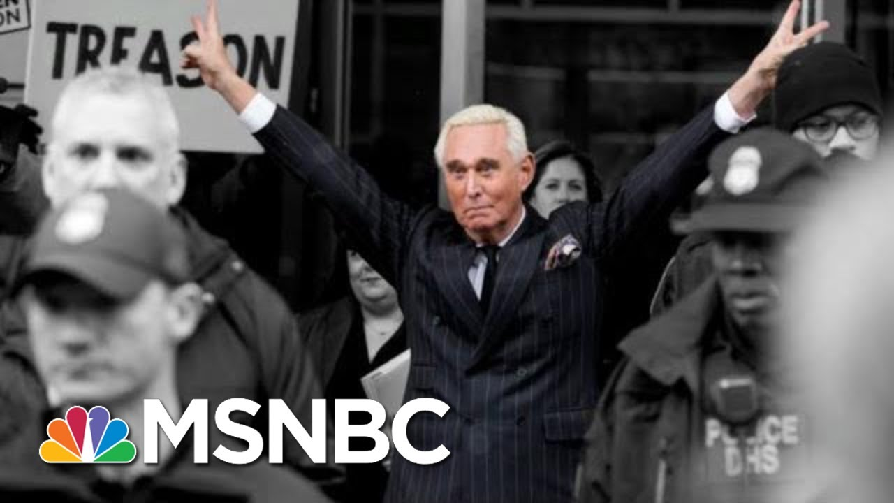Download Judge Considers A Gag Order For Trump Confidant Roger Stone | The 11th Hour | MSNBC