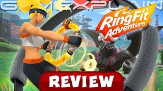 Ring Fit Adventure is a Real Workout! - REVIEW (Nintendo Switch) (Video Game Video Review)