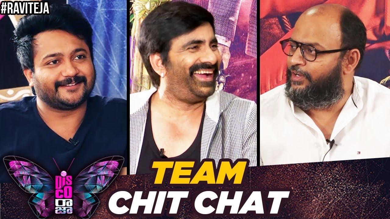 Disco Raja Team Chit Chat | Ravi Teja | Nabha Natesh | Payal Rajput | Bobby Simha | VI Anand |Thaman