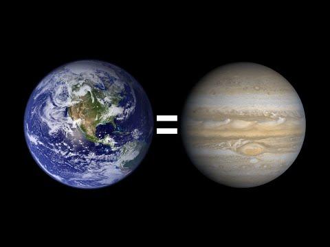 ¿Qué pasaría si la Tierra fuera del tamaño de Júpiter? de YouTube · Alta definición · Duración:  6 minutos 42 segundos  · Más de 3.370.000 vistas · cargado el 23.08.2015 · cargado por El Robot de Platón