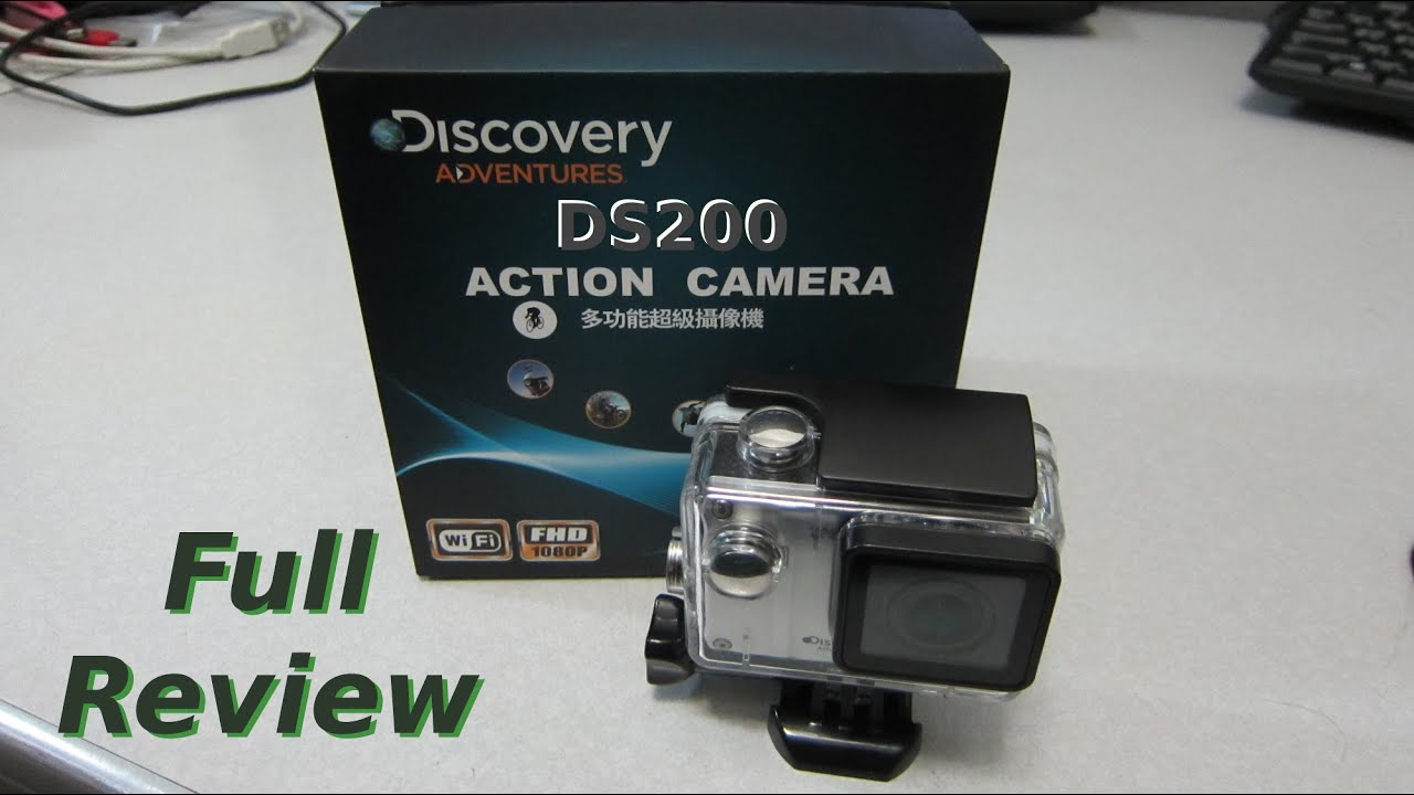 Discovery Adventures DS200 WiFi Action Camera Full Review with ...