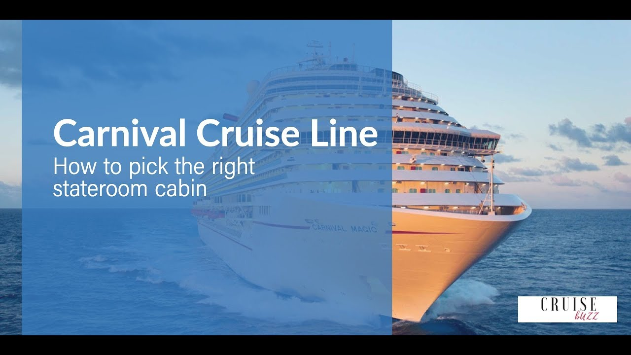 carnival dream large balcony How To Pick The Right Stateroom Cabin On Carnival Cruise