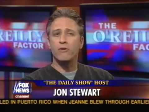 Jon Stewart vs Bill O'Reilly, the first time - 2004.09.17
