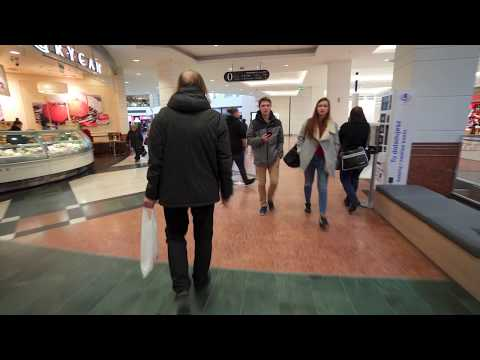 Poland, Warsaw, Arkadia shopping mall, 17X escalator, 2X elevator