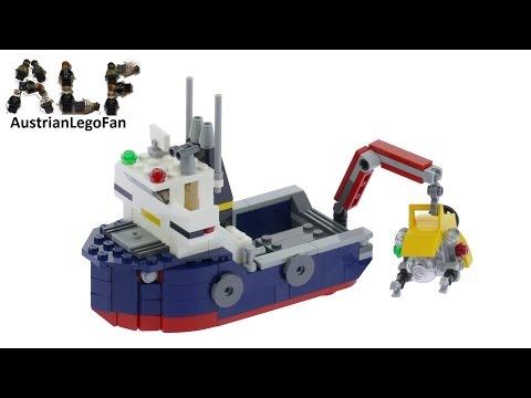 Lego Creator 31045 Ocean Explorer Model 1of3 - Lego Speed Build Review
