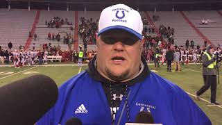 Centennial coach Klanecky post-game comments