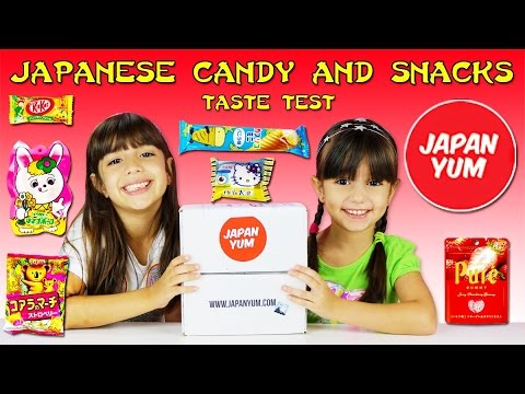 American Kids Taste Japanese Candy Japanese Candy And