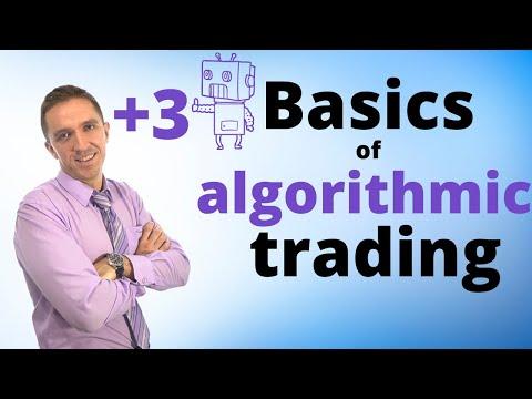 Basic algorithmic trading course + 3 Robots