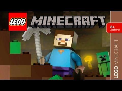 Final lego minecraft steve and creeper minifigures revealed youtube - Minecraft creeper and steve ...