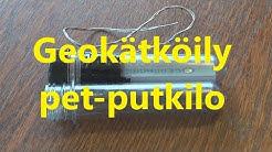Geokätköily - PET putkilo geokätkö