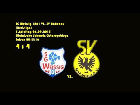 2015-09-26 / 5. Spieltag / Kreisliga A / SG Weißig 1861-SV Rabenau