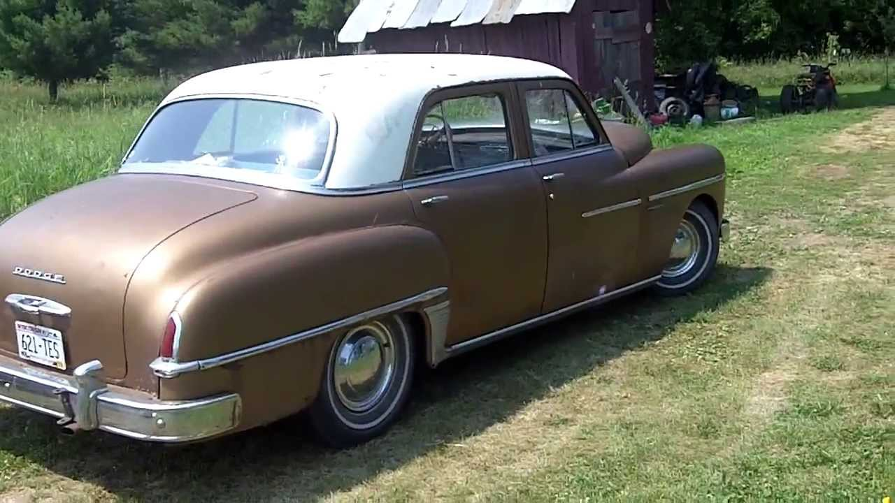 Classic Dodge Coronet 1950 Overview Youtube