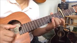 沢田知可子さんの「会いたい」をソロ・ギターで弾いてみました。