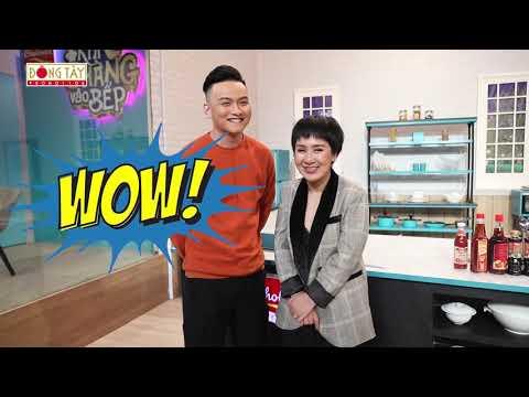 Khi Chàng Vào Bếp 2019 | Tập 3: Huỳnh Tú bất ngờ cùng chồng xuất bấy giờ gameshow nấu ăn