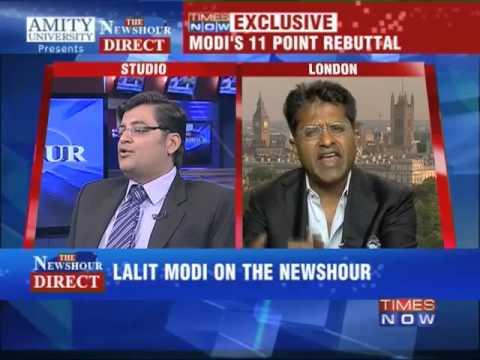 The Newshour Direct: Lalit Modi - Full Episode