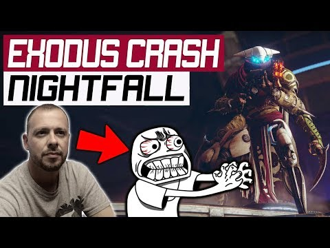 Destiny 2 Exodus Crash Nightfall Rewards x3: WARNING Old Man Rage