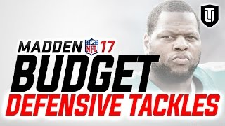 MUT 17 BUDGET: How to Get the BEST DEFENSIVE TACKLES on a 10K COIN BUDGET in Madden 17 Ultimate Team