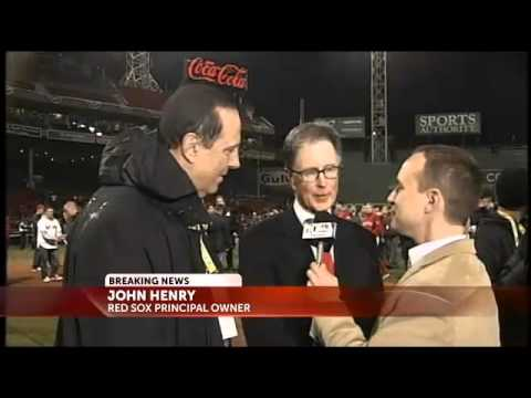 Red Sox owner John Henry reflects on third championship
