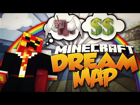 Minecraft DREAM WORLD! (WHAT HAPPENS WHEN YOU'RE ASLEEP?!) w
