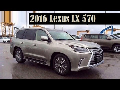 2016 Lexus Lx 570 Leaked Again This Time With A Clearly View Before Its Officially Revealed You