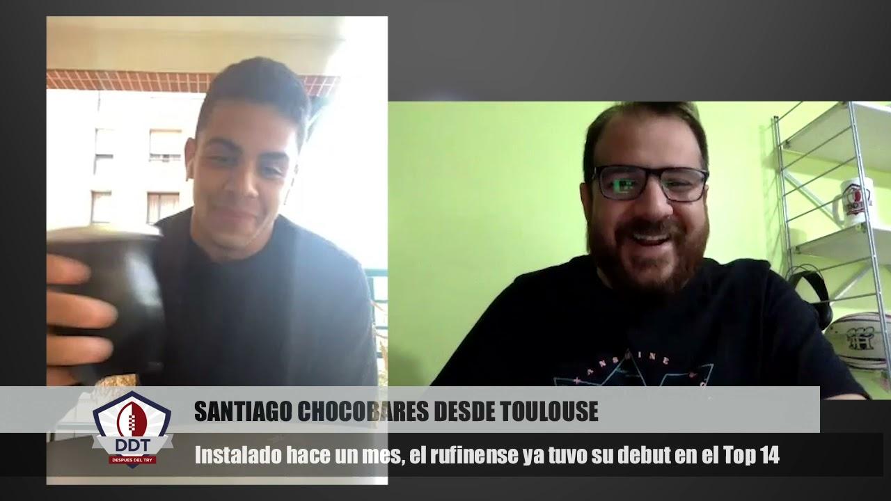 """Choco desde Francia: """"El primer objetivo es seguir vinculado con Los Pumas"""""""