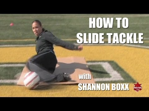 Soccer Drills: How to Slide Tackle with Shannon Boxx Mp3
