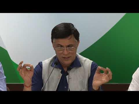 AICC Press Briefing By Pawan Khera on Piyush Goyal