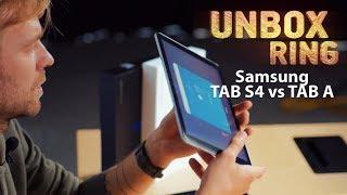Planšetės? Vis dar reikia?   Samsung TAB S4 vs TAB A   Unbox Ring apžvalga