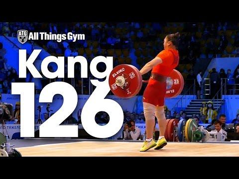 Yue Kang (75kg, China) 126kg Snatch 2014 World Weightlifting Championships