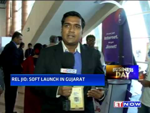 Reliance Jio's Soft Launch In Gujarat | Launches Limited 4G Services