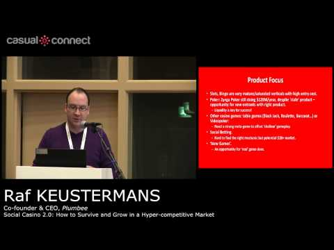 Social Casino 2.0: How to Survive and Grow in a Hyper-competitive Market | Raf KEUSTERMANS