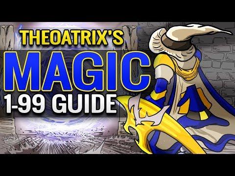 Theoatrix's 1-99 Magic Training Guide (OSRS)